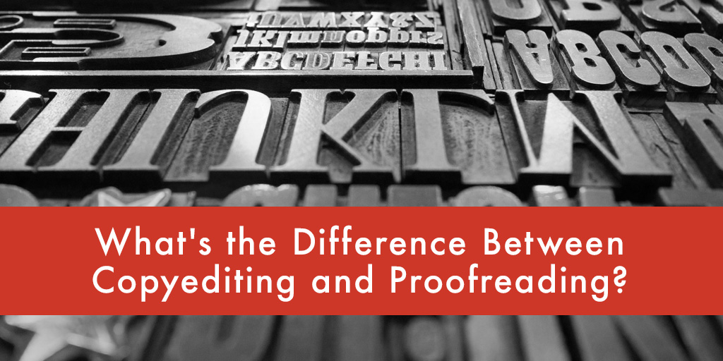 copyediting and proofreading